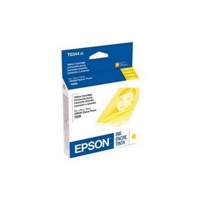 Epson T0344 Yellow Ink Cartridge C13T03444010