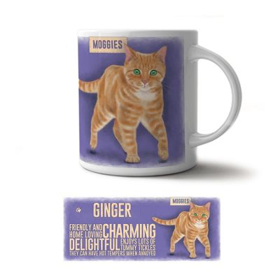Original Metal Sign Co Mug, Ginger Moggie
