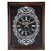 Antique Effect 45cm Wooden Framed Wall Clock for the Home