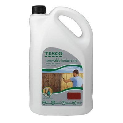 Tesco Sprayable Maple Red 5L