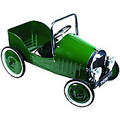 Great GizmosClassic Pedal Car Green
