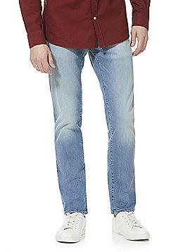 F&F Stretch Slim Leg Jeans - Light wash