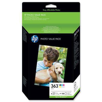 HP 363 Series Photo Value Pack-150 sht/10 x 15 cm