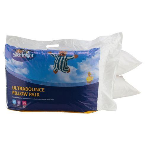 Silentnight Ultrabounce Pillows, 2 Pack