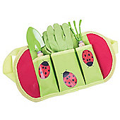 Bigjigs Toys Children's Gardening Belt and Tools with Gardening Gloves, Spade and Fork