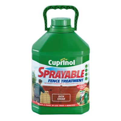 Cuprinol Sprayable Rich Cedar 5L