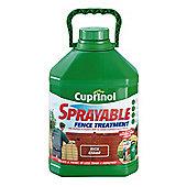 Cuprinol Sprayable Rich Cedar 5L