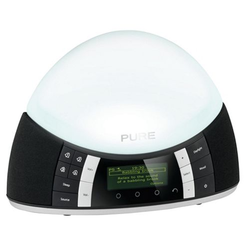 Pure Outlet Twilight DAB/ FM Radio with Lamp