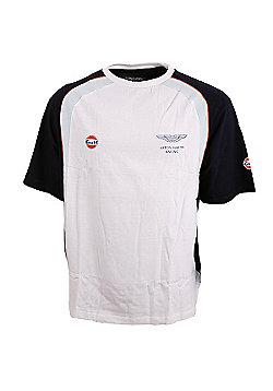 Aston Martin Racing Gulf Adult Team T-Shirt (A06GT1) All Sizes - Multi