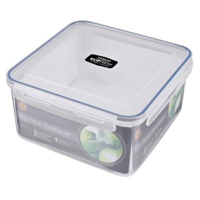 Klipfresh 5L Square Food Storage Container