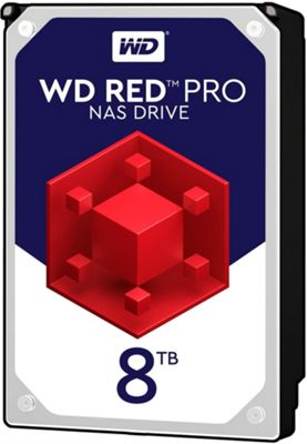 WD 8TB Red Pro 128MB 3.5IN SATA 6GB/S NAS Hard Drive