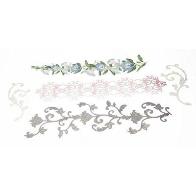 Flora & Fauna Adhesive Swirl Borders