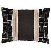 Catherine Lansfield Geo Embellished Cushion