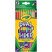Crayola Dual Sided 24 Coloured Pencils
