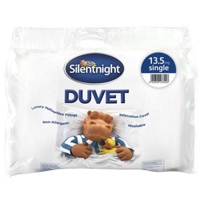 Silentnight Hollowfibre 13.5 Tog Duvet, Double