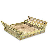 Wickey Flippey Wooden Lidded Sandpit 110x165cm