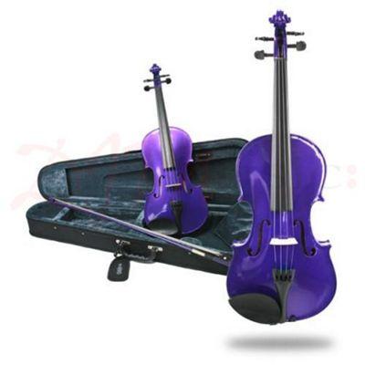 Fantasia Violin Outfit - Purple 1/4 Size
