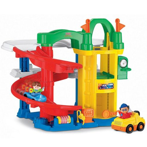 Fisher-Price Little People Racin' Ramps Garage