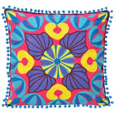 Riva Home Gethsemane Pink Cushion Cover - 45x45cm