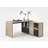 Stanton Corner / Multi Position Office Desk Light Wood
