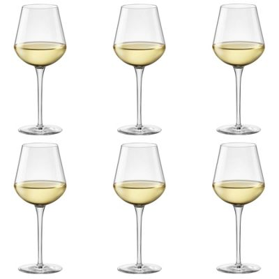 Bormioli Rocco Inalto Uno Medium Wine Glass - 470ml - Pack of 6 Drinking Glasses