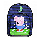 Peppa Pig George Dino 'Puddle' Blue Backpack