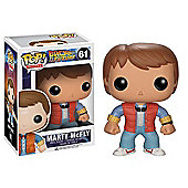POP! Back to The Future Marty McFly Vinyl Figure - Action Figures