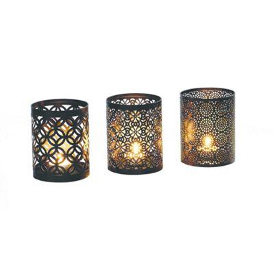 Gardman Arabian Triple Pack Candle Holders