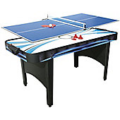 Mightymast Typhoon 2-in-1 Air Hockey & Table Tennis Game