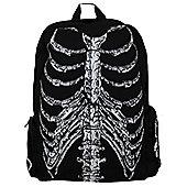 Banned Skeleton Black Backpack