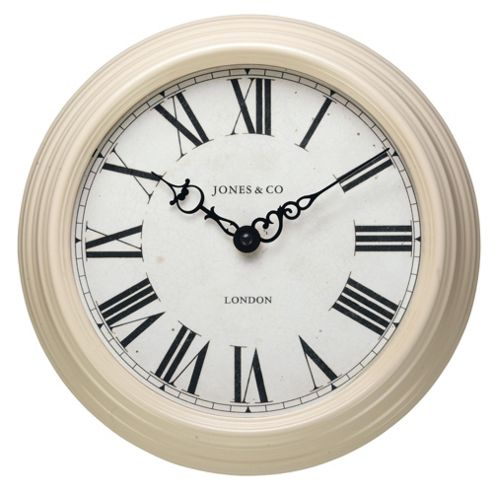 Jones & Co Savoy Cream Wall Clock