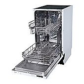 electriQ 10 Place Slimline Fully Integrated Dishwasher