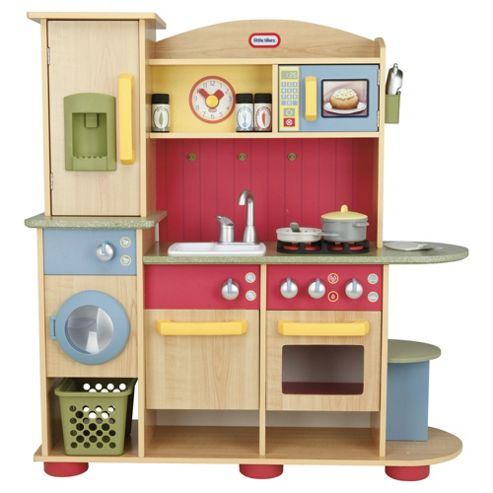 Buy Little Tikes Premium Wooden Kitchen Playset From Our Cooking Role Play Range Tesco