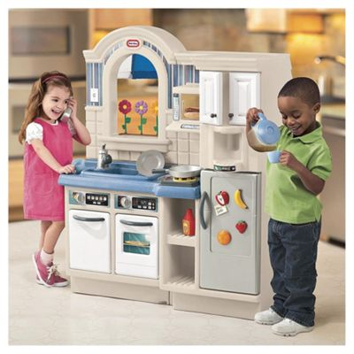 buy little tikes inside outside cook n grill kitchen from our toy rh tesco com play kitchen grill little tikes little tikes play kitchen canada