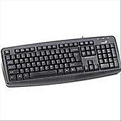 Genius KB-110X - PS/2 Black Keyboard