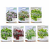 7pc Microgreen Baby Leaf Salad Shoot Seeds