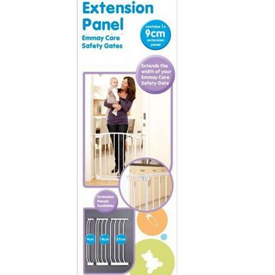 Emmay Care 9cm Extra Tall Gate Extension White