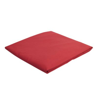 Tesco King Size Fitted Sheet, Dark Red