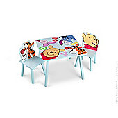 Disney Winnie The Pooh Table and Chairs