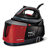 Morphy Richards-332013 Auto-Clean Power Steam Elite Steam Generator Iron in Black and Red