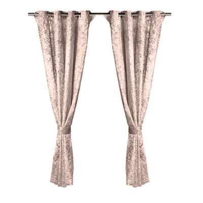 Truffle Crushed Velvet Heavyweight Curtains 46