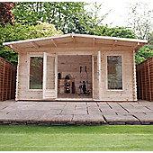 Mercia 5x3 Woburn Log Cabin