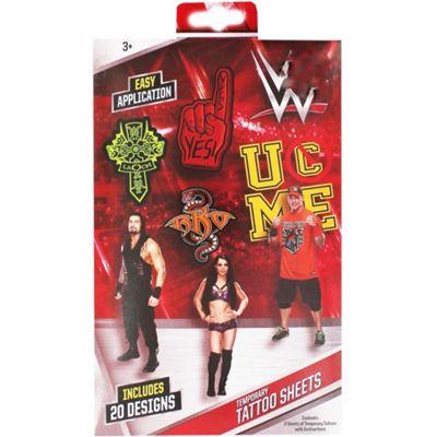 WWE Temporary Tattoos