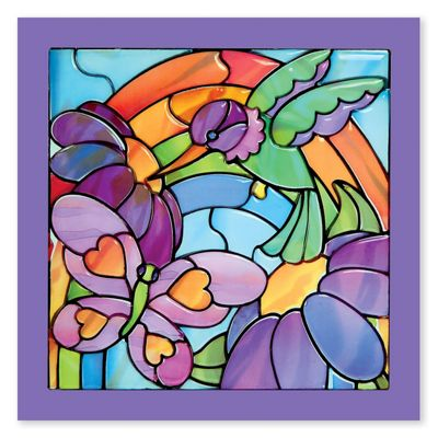 Stained Glass Made Easy- Rainbow Garden