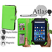 Navitech - Green Case for the Amazon Fire 7 Tablet fits all generations