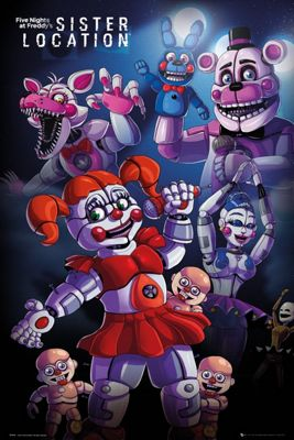 Five Nights At Freddy's Poster 61x91.5cm