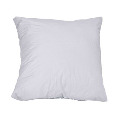 Homescapes White Continental Square Egyptian Cotton Pillowcase Luxury Pillow Cover 1000 TC, 40 x 40 cm