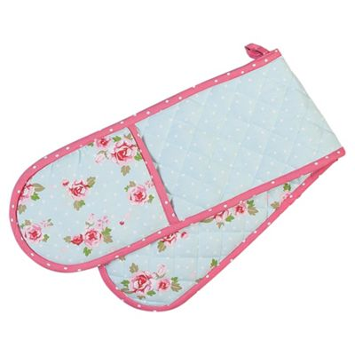 Tesco English Rose Double Oven Glove