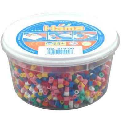 Hama Beads 3,000 - Solid Mix