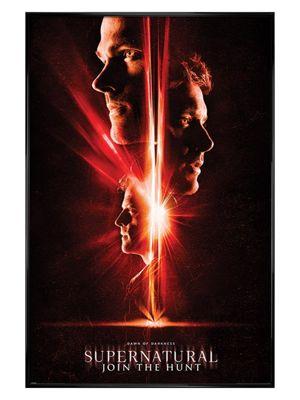 Supernatural Gloss Black Framed Dawn Of Darkness Poster 61 x 91.5cm